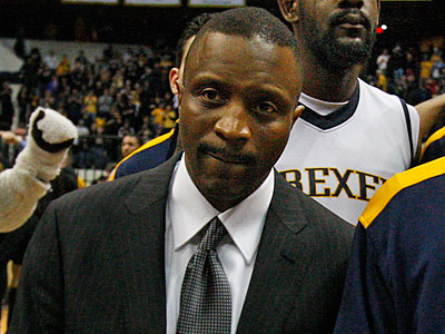 Drexel coach Bruiser Flint and his team did not earn a spot in the NCAA Tournament. (Ron Cortes/Staff Photographer)