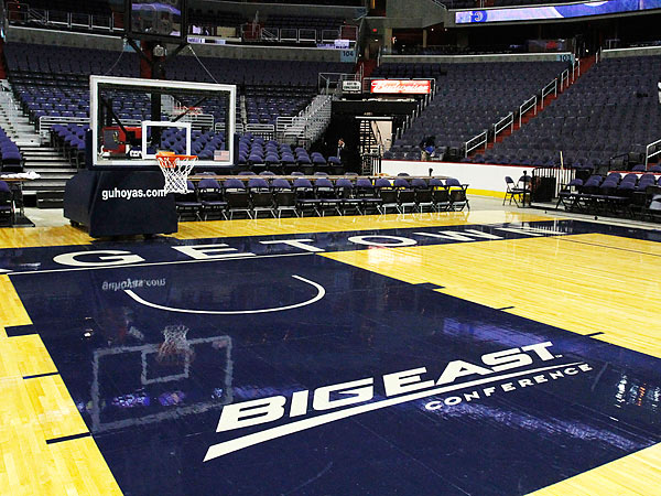 Georgetown will join Villanova, St. John´s and seven other basketball-centric programs in the new Big East. (Jacquelyn Martin/AP file photo)