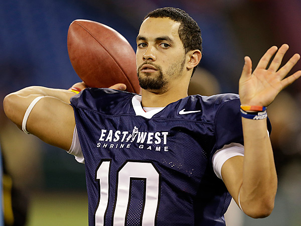 Arizona quarterback Matt Scott. (AP Photo/Chris O´Meara)