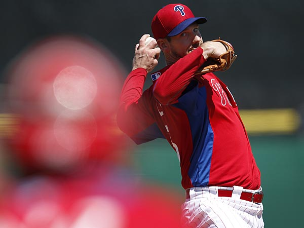 Phillies starting pitcher Cliff Lee. (David Maialetti/Staff Photographer)