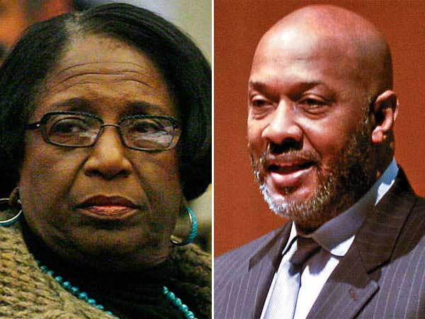 City Councilwoman Marian Tasco (left) and state Rep. Dwight Evans (right). (File photos)