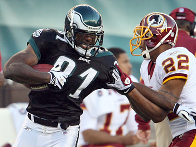 Wide receiver Jason Avant has reached agreement on a 5-year contract with the Eagles.  (Yong Kim / Staff Photographer)