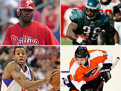 Rich Hofmann answers your Philly sports questions in today´s chat. (Staff and AP Photos)