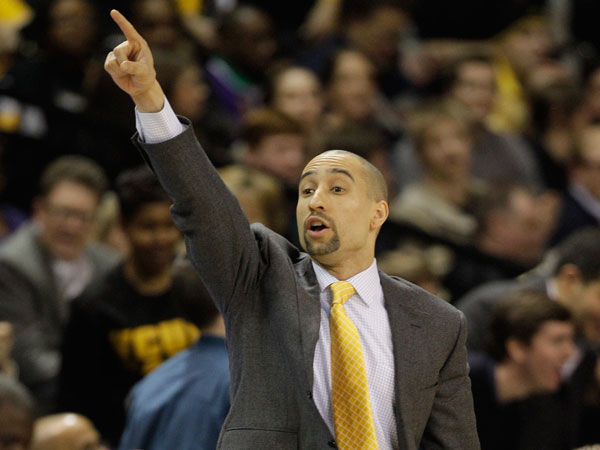 VCU head coach Shaka Smart. (Steve Helber/AP)
