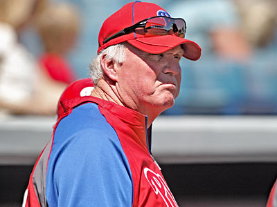 The Phillies and Charlie Manuel have agreed to a two-year contract extension. (David M. Warren / Staff Photographer)