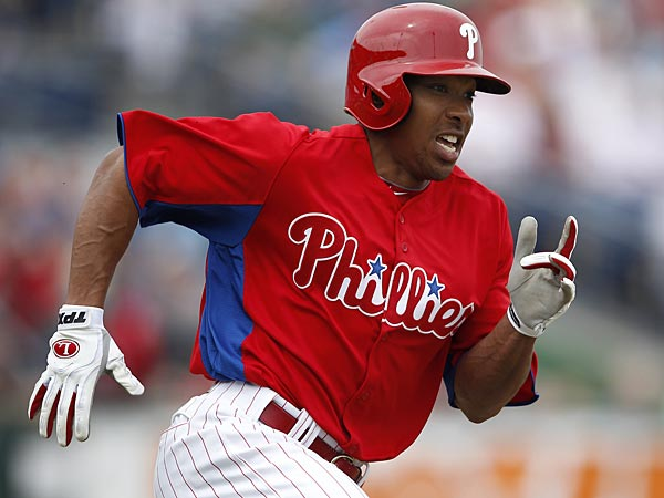 Phillies center fielder Ben Revere. (David Maialetti/Staff Photographer)