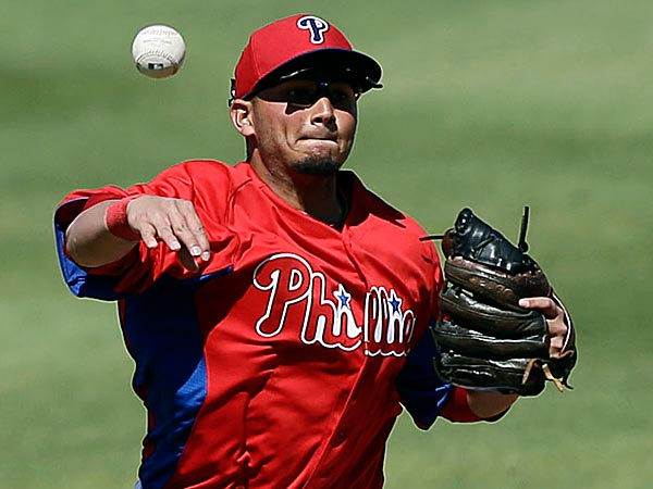 The Phillies announced they released Yuniesky Betancourt, thus opening the likely door for Freddy Galvis on the roster. (Matt Slocum/AP)