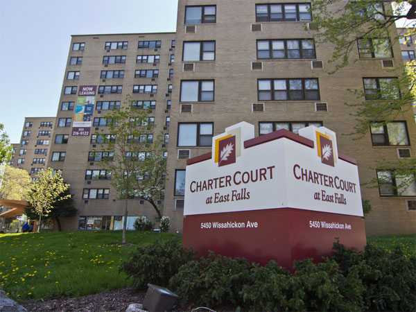 Charter Court at East Falls. (Photo from liveatchartercourt.com)