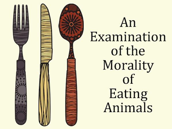 Detail from the cover of ´Eat Like You Care´ by Gary L. Francione and Anna Charlton.