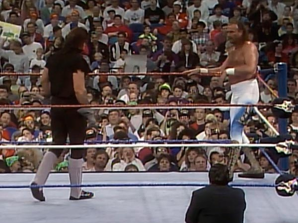 Reliving The Streak The Undertaker Defeats Jake Roberts