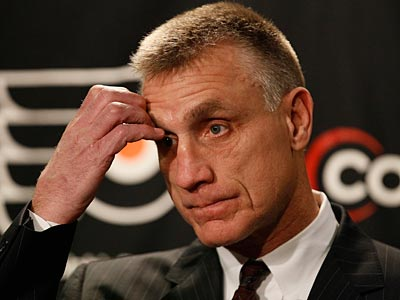 Flyers GM Paul Holmgren did not make the short list for NHL Exec of the Year. (Matt Slocum/AP)