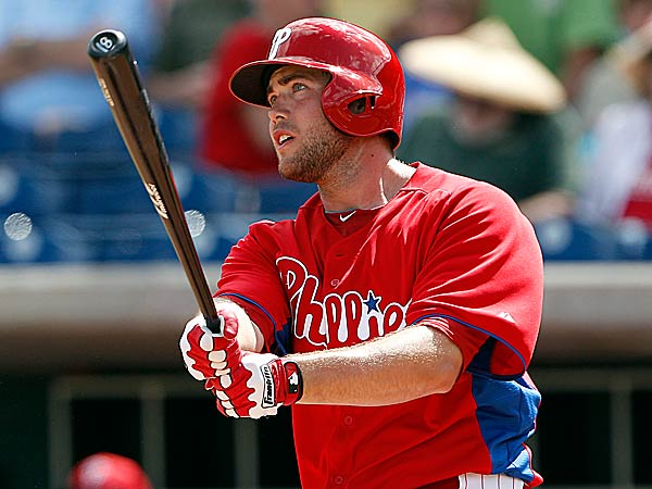 The Phillies´ Darin Ruf. (Yong Kim/Staff Photographer)