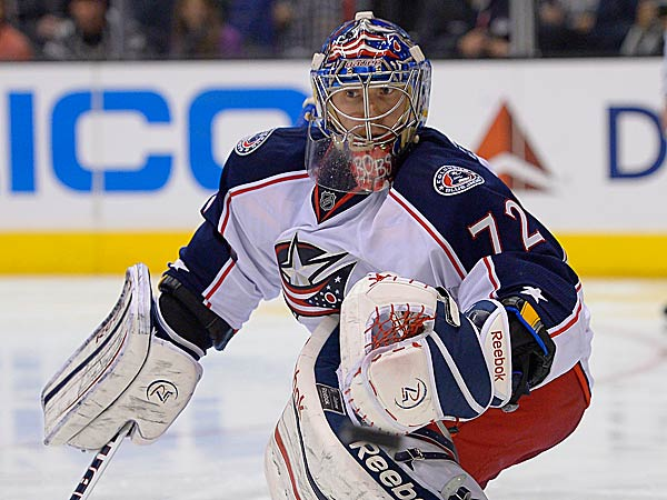 When the Flyers sent backup goalie Sergei Bobrovsky to Columbus last June, not many eyebrows were raised. (Mark J. Terrill/AP)