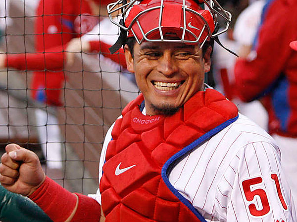 Phillies catcher Carlos Ruiz. (Ron Cortes/Staff file photo)