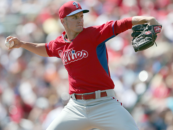 Phillies pitcher David Buchanan. (Yong Kim/Staff Photographer)