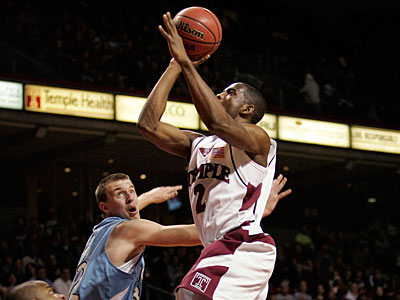 Ryan Brooks played on three NCAA Tournament teams at Temple. (Clem Murray/Staff file photo)