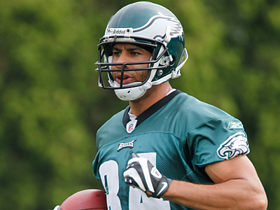 Will Hank Baskett  be the Eagles´ fourth receiver job? (AP file photo / Matt Rourke)