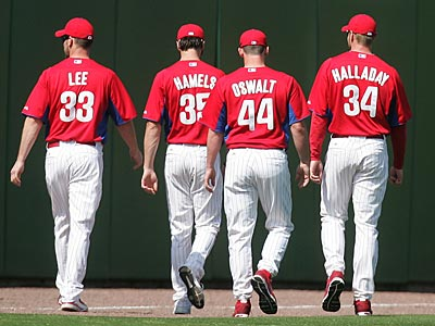 The Phillies have four aces on their starting rotation. (David Swanson/Staff Photographer)