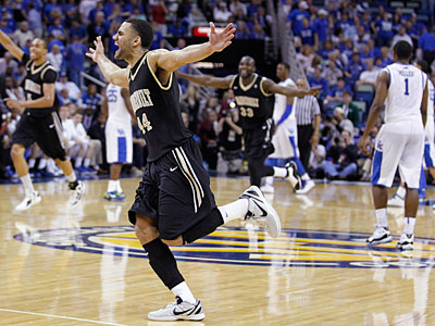 Vandebilt took down No. 1-ranked Kentucky to win the SEC tournament. (Bill Haber/AP)