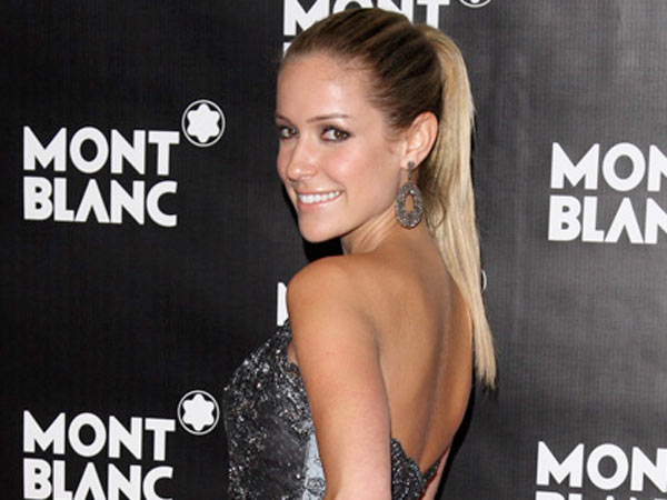 Kristin Cavallari attends the global launch of the Montblanc John Lennon edition writing instrument, in New York, on Sunday, Sept. 12, 2010. (AP Photo/Peter Kramer)