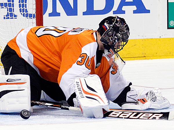 Goalie Ilya Bryzgalov. (Yong Kim/Staff file photo)