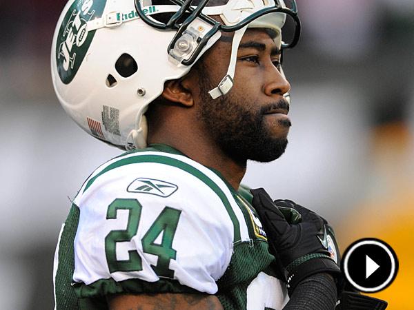Jets cornerback Darrelle Revis. (Bill Kostroun/AP)