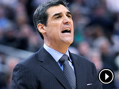 Villanova coach Jay Wright. (AP Photo/Michael Perez)