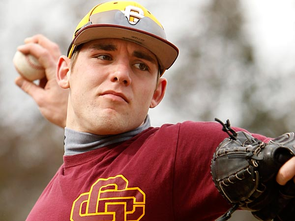 Gloucester Catholic pitcher Mike Shawaryn.  (Ron Cortes/Staff<br />Photographer)