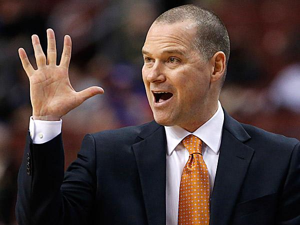 Kings head coach Michael Malone. (Matt Slocum/AP)