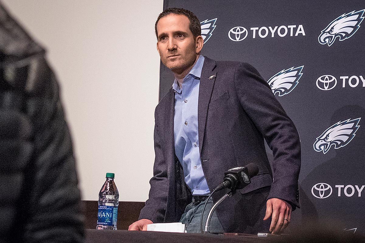 Philadelphia Eagles executive vice president of football operations Howie Roseman.
