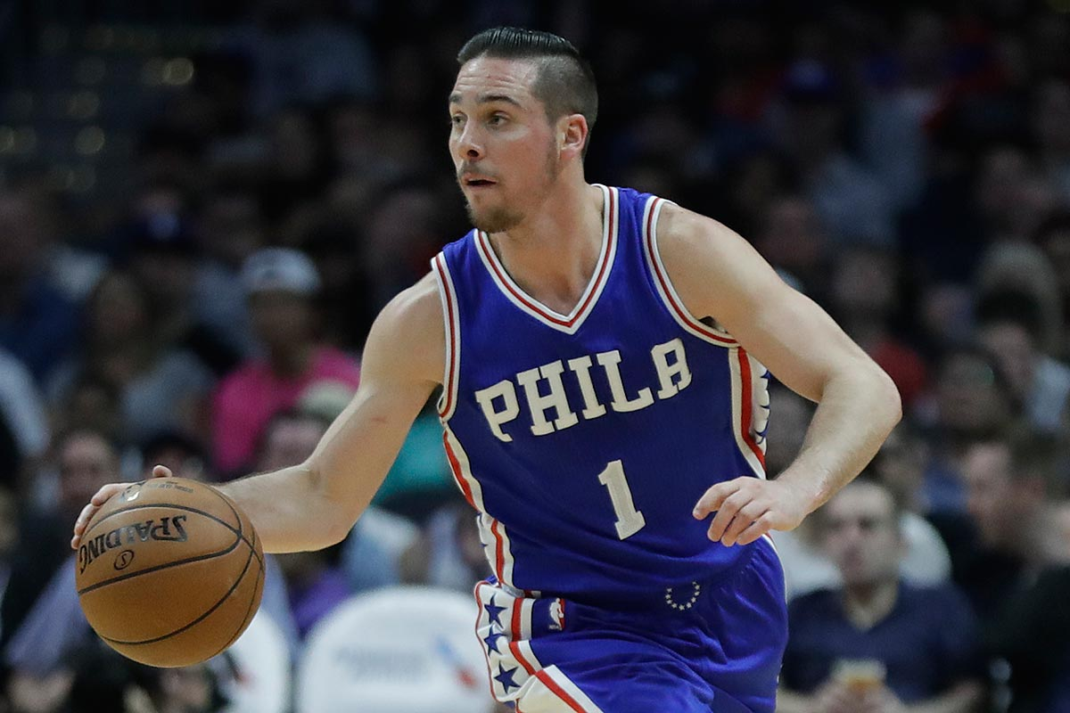 T J Mcconnell Focuses On Total Game Not Up And Down Shooting Philly