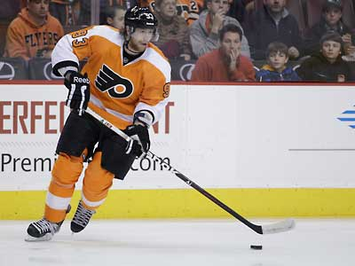 Flyers forward Jake Voracek has decided to play in the KHL during the lockout. (Matt Slocum/AP file photo)