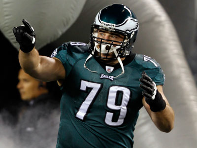 Offensive tackle Todd Herremans was fourth-round pick who has come up big for the Eagles. (Alex Brandon/AP)