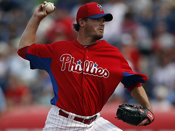 Phillies reliever Chad Durbin. (David Maialetti/Staff Photographer)