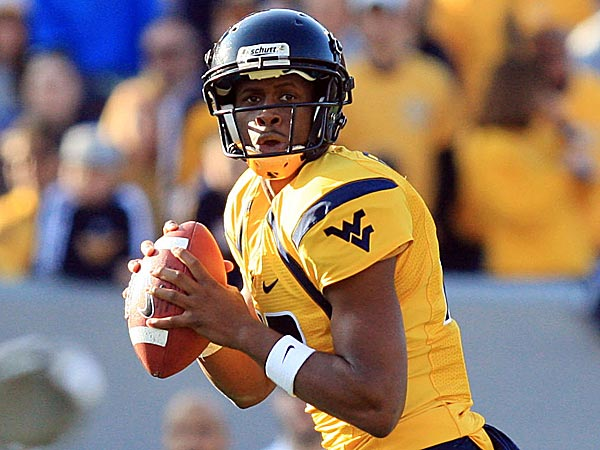 West Virginia quarterback Geno Smith. (Christopher Jackson/AP file photo)