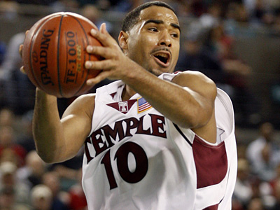 Luis Guzman and the Temple Owls take on Richmond in the Atlantic Ten championship game. (AP Photo/Mel Evans)