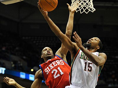 The Sixers followed up a win over the Celtics with a 102-74 loss. (Jim Prisching/AP Photo)