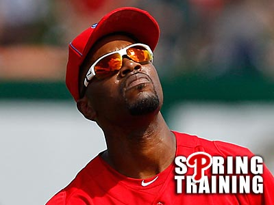 Jimmy Rollins is doubtful that Ryan Howard will play this season. (David Maialetti/Staff Photographer)