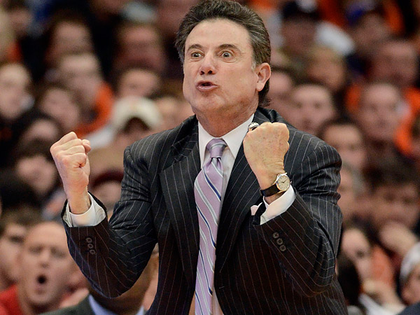 Louisville coach Rick Pitino. (Kevin Rivoli/AP file photo)