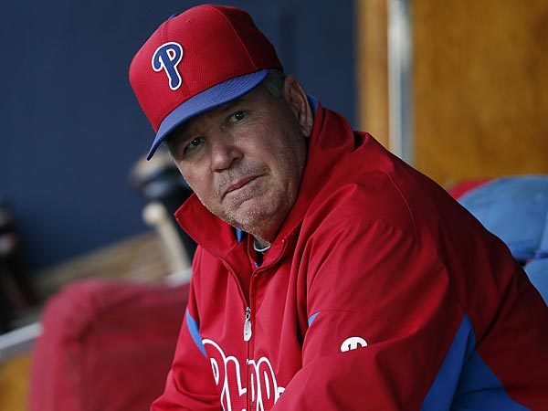 Phillies pitching coach Rich Dubee. (David Maialetti/Staff Photographer)