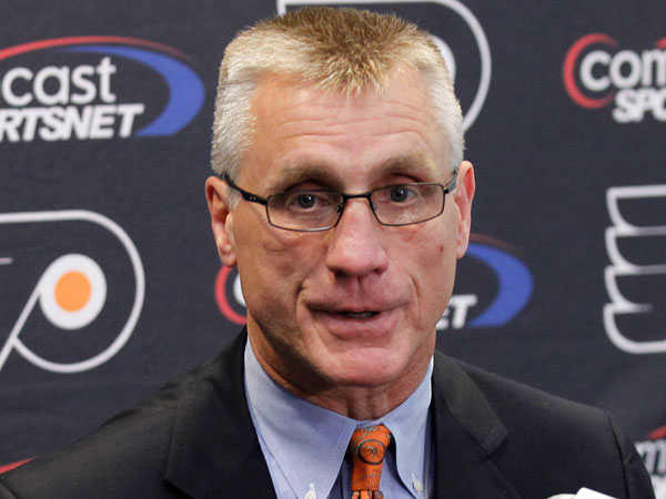 Flyers general manager Paul Holmgren. (Alex Brandon/AP file)