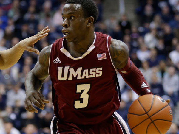 The Owls must find a way to contain UMass point guard Chaz Williams, an all-Atlantic Ten selection. (Al Behrman/AP)