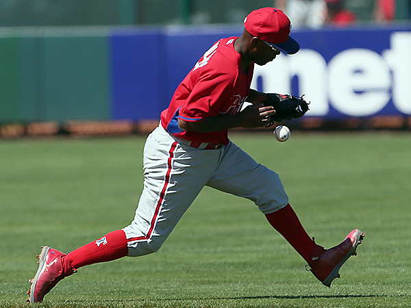 Phillies shortstop Jimmy Rollins (Yong Kim/Staff Photographer)