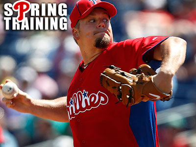Joe Blanton is scheduled to start for the Phillies today against the Red Sox. (David Maialetti/Staff file photo)