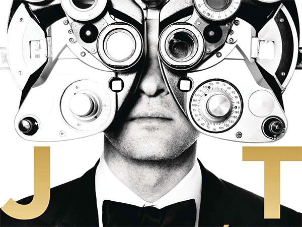 "The cover art from Justin Timberlake´s ""20/20 Experience."""