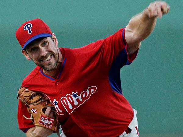 Phillies pitcher Cliff Lee. (Yong Kim/Staff Photographer)
