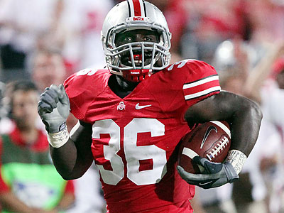 Brian Rolle was a first-team All-Big Ten selection as a senior at Ohio State. (Terry Gilliam/AP)
