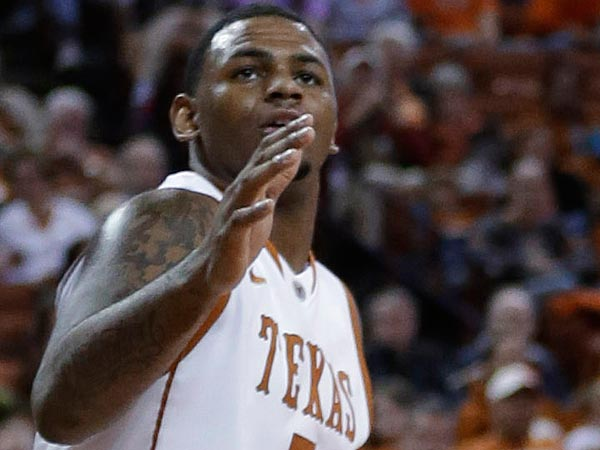 Jaylen Bond is leaving Texas. (AP Photo/Eric Gay)