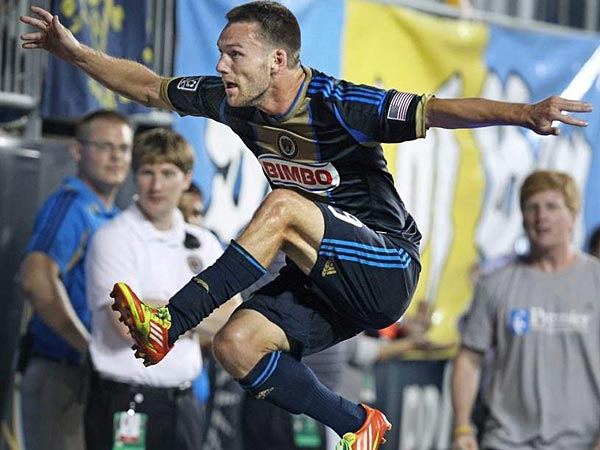 Philadelphia Union forward Jack McInerney has been called up to the U.S. national team for next month´s CONCACAF Gold Cup. (Ron Cortes/Staff file photo)