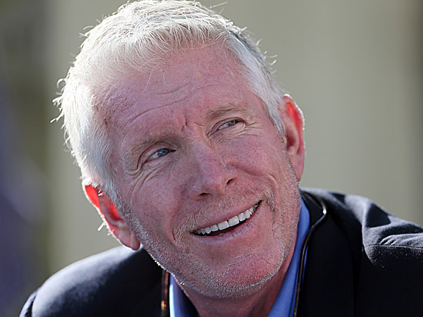 Former Phillies third baseman Mike Schmidt. (Yong Kim/Staff Photographer)